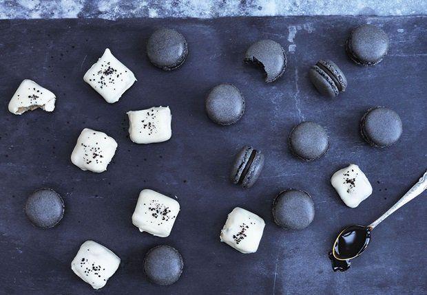 Hvide chokolade-trøfler med lakrids - BO BEDRE