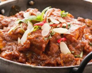 Wok de poulet madras