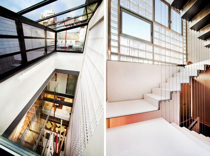12 foot narrow house barcelona 6 stairway to heaven - Narrow house interior design ...