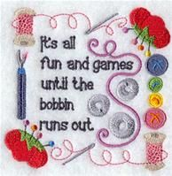 Machine Embroidery Designs at Embroidery Library! - A Sewing Rules Design Pack - Sm