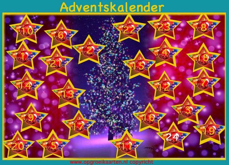 Adventskalender - opgroeikaarten.nl