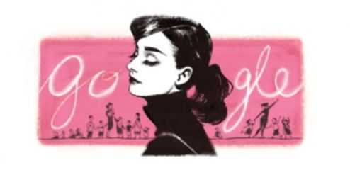Audrey Hepburn ~ Η Google τιμά τη μεγάλη ηθοποιό! - The Google honors the great actress! | Smile Greek