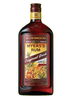 myers rum - Captain or Malibu mixed with pineapple, cranberry, or oj; and some like a floater of dark meyers on top. For the rest of our liquor selection visit http://burtsirishpub.com/liquors