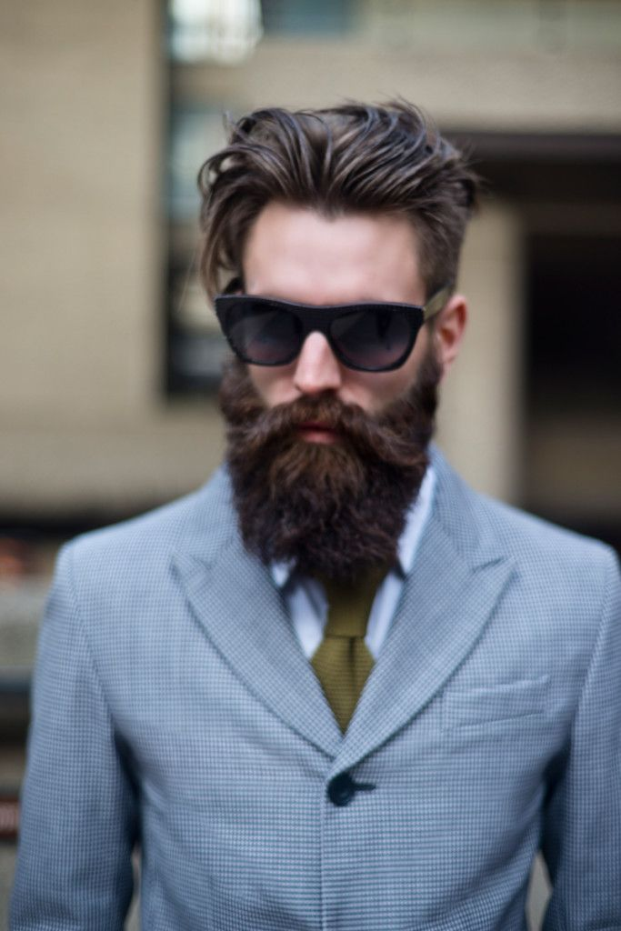 Beards - Sunglasses - Street style - Man sunglasses - Gafas de sol estilo…