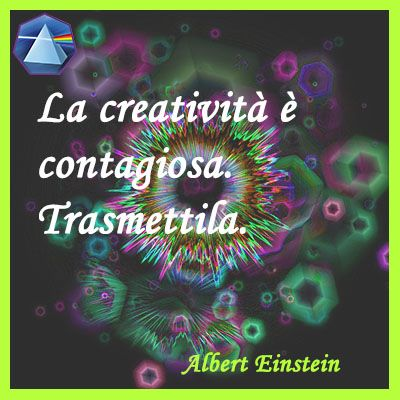 """La creatività è contagiosa. Trasmettila."" - Albert Einstein  #einstein…"