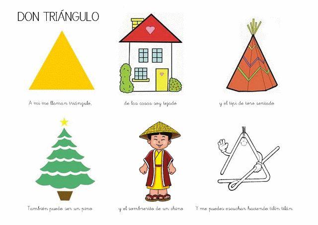 Trabajando en Educación Infantil: 10 poesías de las figuras geométricas