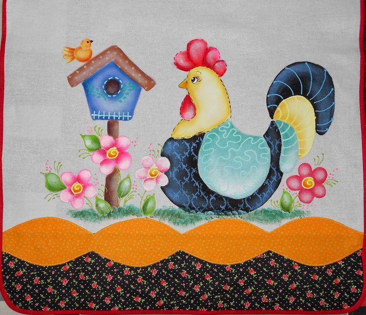 @ngela @artes: Pintura em Tecido - Panos de Prato