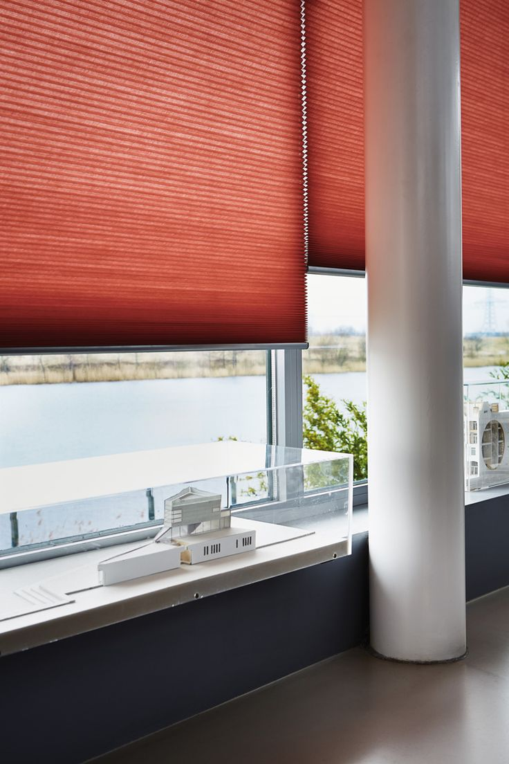 66 best haute honeycomb design images on pinterest for Smart window shades