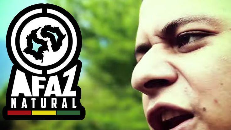 Allá en el Barrio Afaz Natural  (Video Oficial)