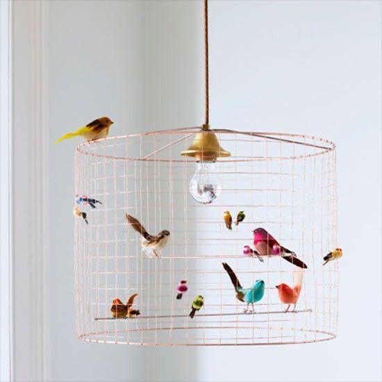 bird chandelier - Google Search