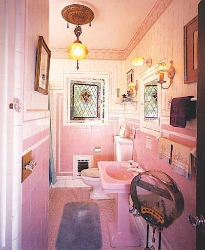 Pink Bathrooms Designs, Pink Bathrooms Inspiration