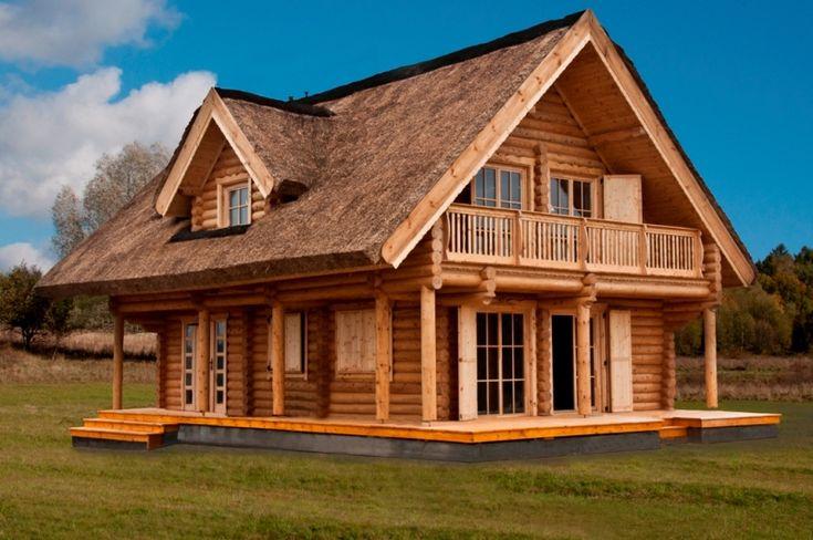 domy z bali drewnianych