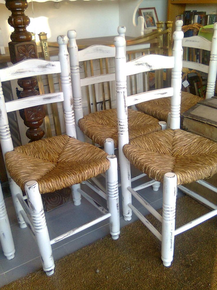 Sillas restauradas nuestros muebles pinterest - Sillas restauradas ...