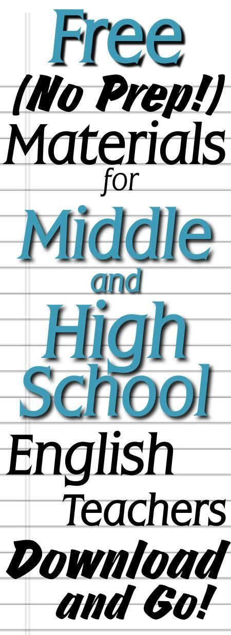FREE teaching materials (Ready-to-Go!) for Middle and High School Classrooms! (scheduled via http://www.tailwindapp.com?utm_source=pinterest&utm_medium=twpin&utm_content=post83222797&utm_campaign=scheduler_attribution)