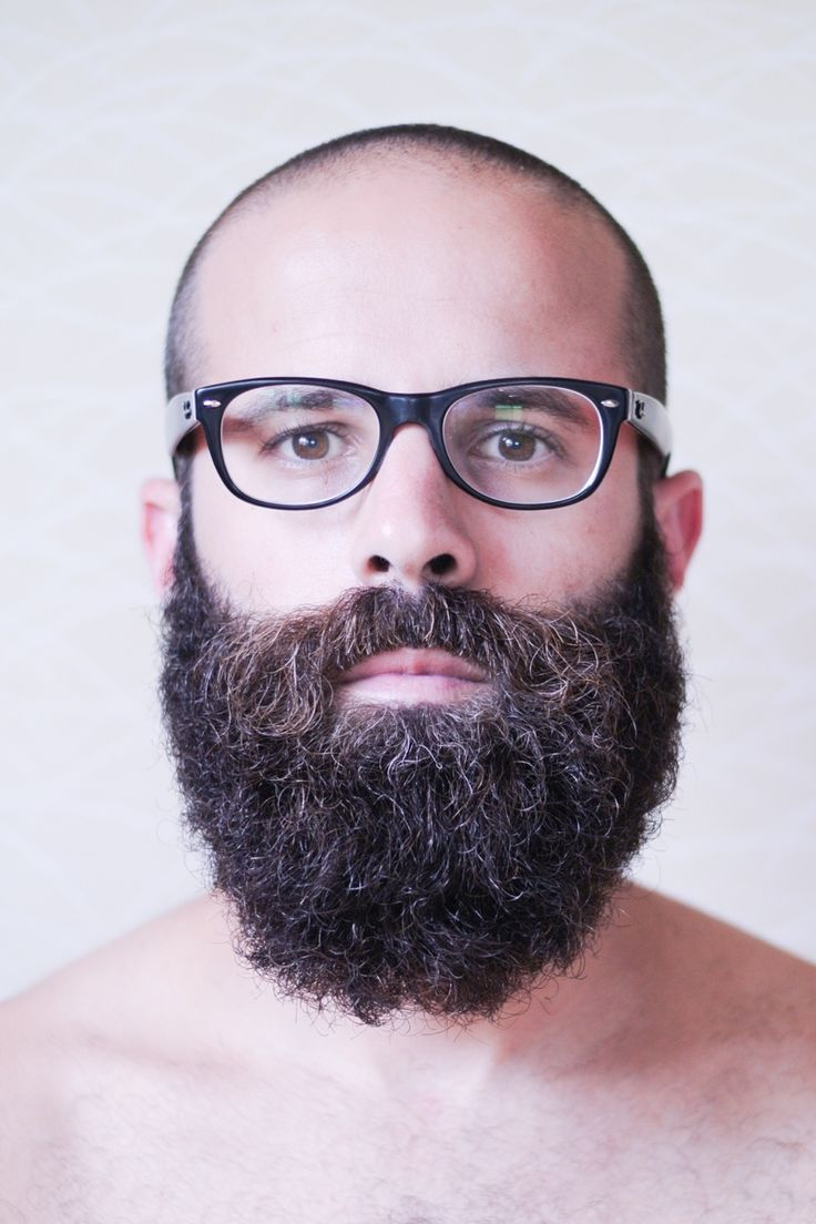 Attractive Uprightdactylion: Shot By Topher Chavis Beard Glasses Bald