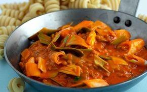 Lins- och tomatpanna