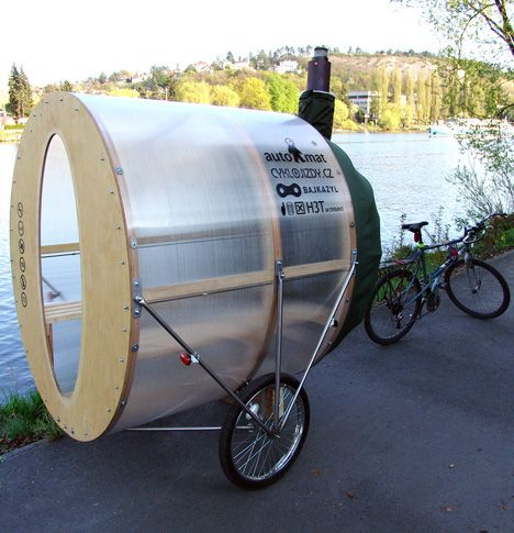 Get Your Steam On Anywhere: Portable Bike Sauna By H3T Architects : TreeHugger