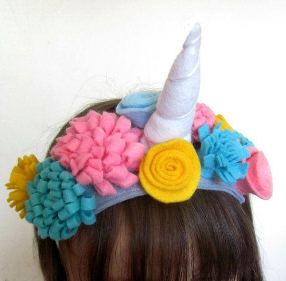 Unicorn Horn  Unicorn Headband  Unicorn Crown   by AisforAliceShop