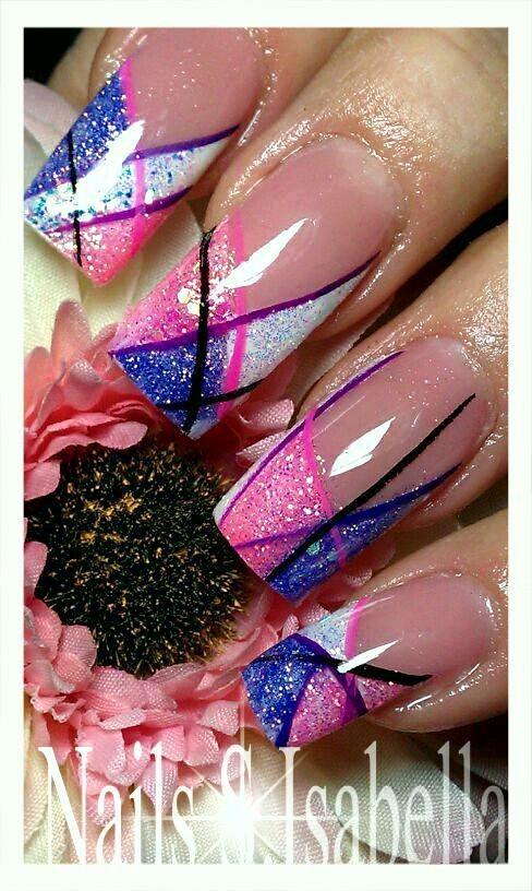 Nail art- Fly!