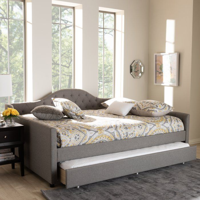 Zanowitz Daybed Daybed With Trundle Full Daybed With Trundle