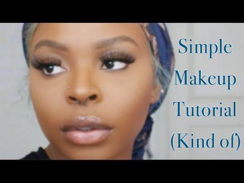 simple makeup tutorial  beginner friendly  youtube