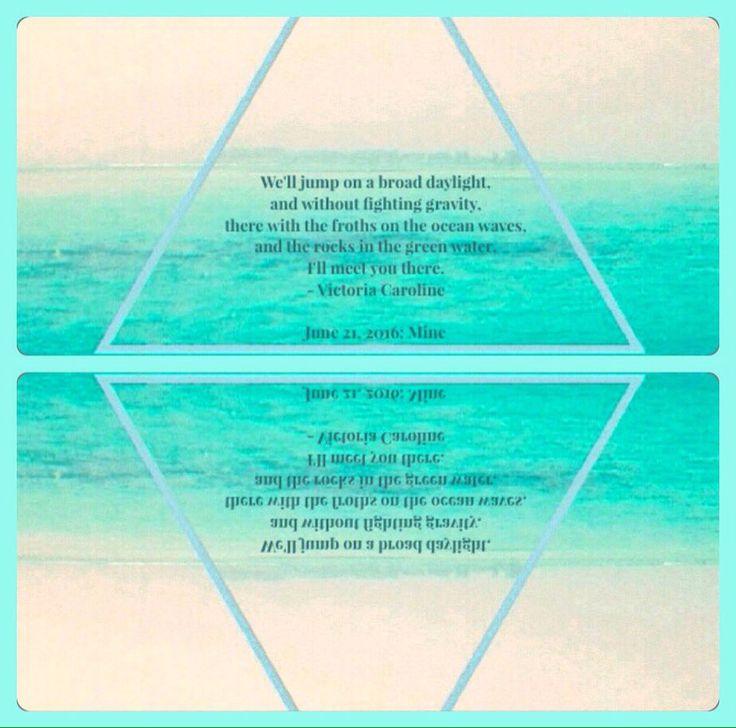 Mine. #poets #poem #poetry #poetrycommunity #victoriacaroline #vcarolinek #mine #photography #june212016 #writersnetwork #deadpoetsociety #poetryinmotion #11 #poetsofinstagram #instapoet #writersofinstagram #womenwritersofinstagram