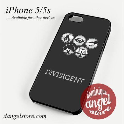 Divergent All Faction Phone Case for iPhone 4/4s/5/5c/5s/6/6s/6 plus