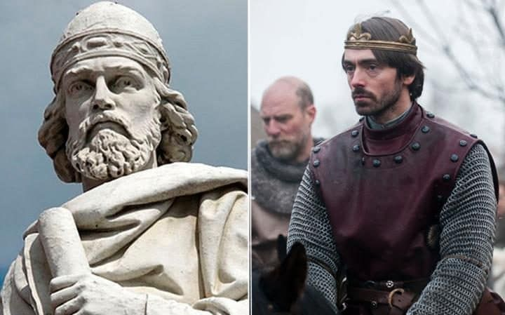 David Dawson as King Alfred The Great in 'The Last Kingdom' 2015.