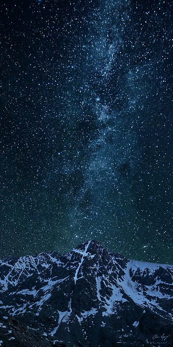 Colorado 14er Mt. of the Holy Cross with the Milky Way in the Holy Cross WIlderness, Colorado :  Mountain photography by Aaron Spong #14ers #Colorado
