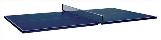 Table Tennis Conversion Top for Pool Tables with Two Player Set