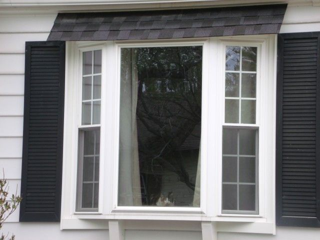 52 best replacement windows images on pinterest curb for Bow window installation