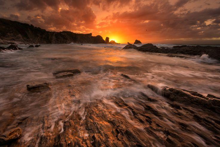 Arnia - Playa de la Arnia #Cantabria #Spain