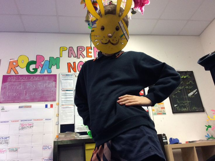 Me dressed up as a bunny