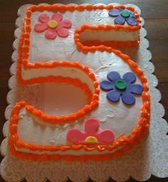 How to Make a Number 5 Birthday Cake
