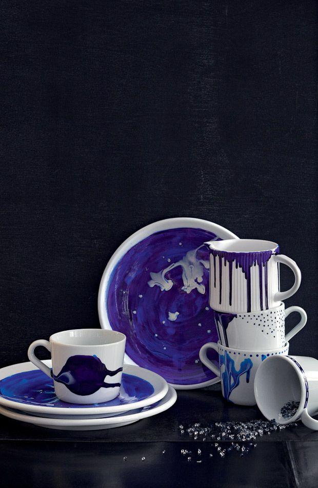 ber ideen zu bemaltes porzellan auf pinterest. Black Bedroom Furniture Sets. Home Design Ideas