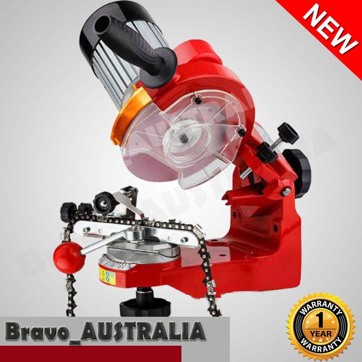 350W Chainsaw Sharpener Chain Saw Bench Mount Alloy Electric Grinder Tool