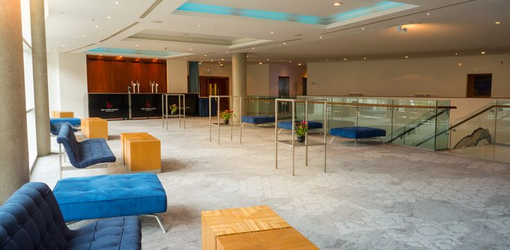Pre Function 1 at The Lowry Hotel - a light and airy space for refreshments or a drinks reception