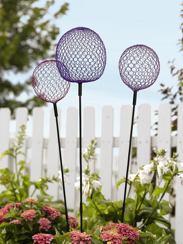 Globe Allium Stakes | Allium Sculpture Garden Art ...