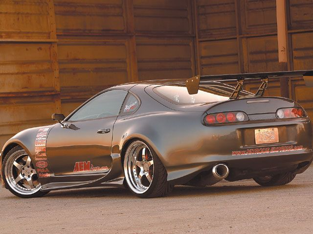 Toyota Supra Turbo: Kevin's Eleanor (it's means its a car he will never get, for those who don't know the term from the movie)