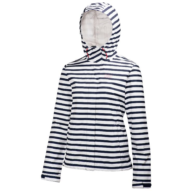 Helly Hansen W Nine K Jacket - Evening Blue Stripe