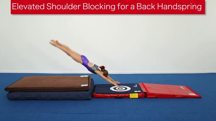 How long does it take to learn a back handspring?