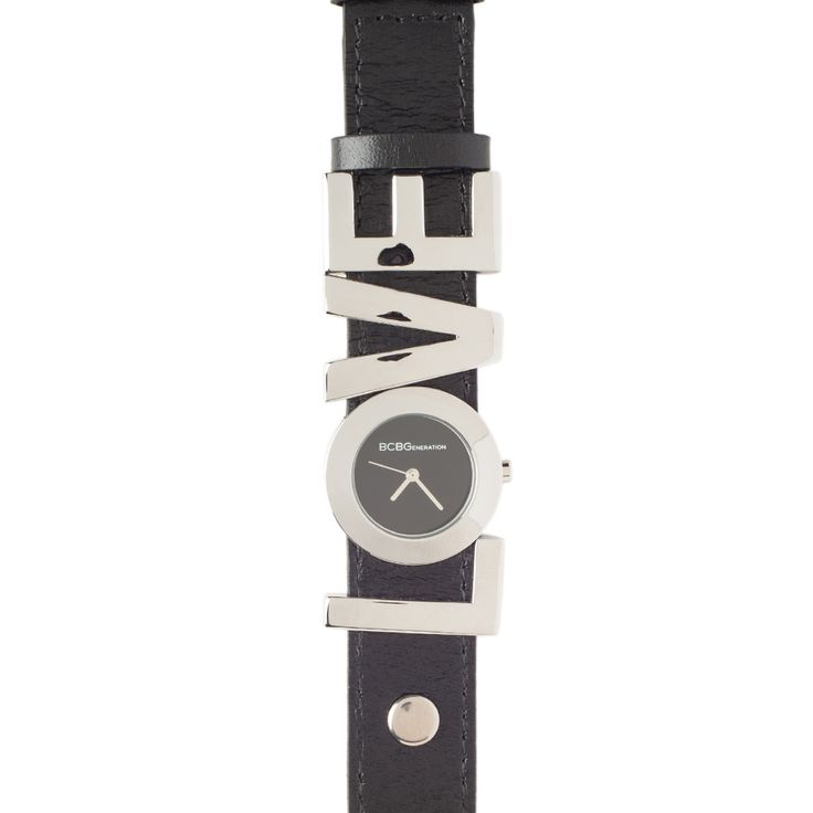 I love the BCBGeneration Love Watch from LittleBlackBag