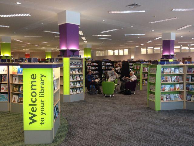 Woking library #Woking