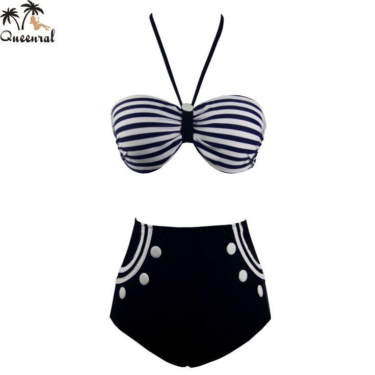 $25.98 (Buy here: https://alitems.com/g/1e8d114494ebda23ff8b16525dc3e8/?i=5&ulp=https%3A%2F%2Fwww.aliexpress.com%2Fitem%2Fhigh-waist-swimsuit-Vintage-high-waisted-bikini-set-swimsuit-high-waisted-bathing-suits-biquinis-bikini-retro%2F32667032070.html ) high waist swimsuit  Vintage high waisted bikini set  swimsuit high waisted bathing suits biquinis  bikini retro Swimwear Ladies for just $25.98