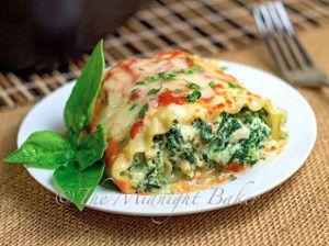 Cheesy Lasagna Rolls   FaveHealthyRecipes.com