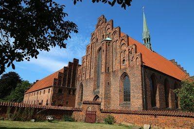 Sankt Mariæ Kirke & Karmeliterklostret, Helsingør, Denmark.