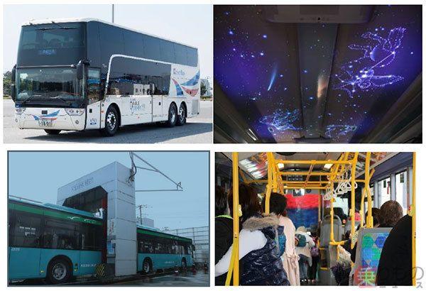 天井プラネタリウムの夜行高速バス試乗も 京成バスお客様感謝
