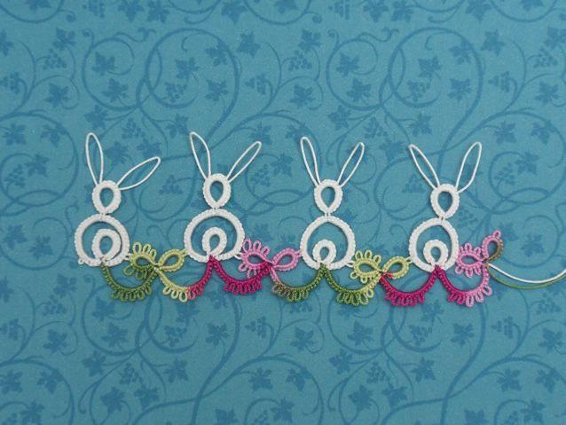 Awww, tatted bunnies! Cute!