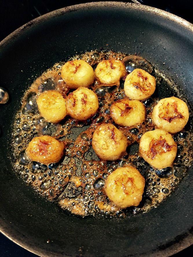 """Healthy """"Fried"""" Bananas Recipe"""