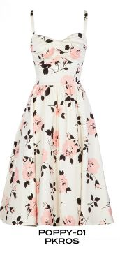NEW!!! PRE ORDER Stop Staring! Poppy pink rose swing dress  See our DISCOUNTS  tab on our home page- layaway, discounts, free shipping available exclusively at www.bvenboutique.com